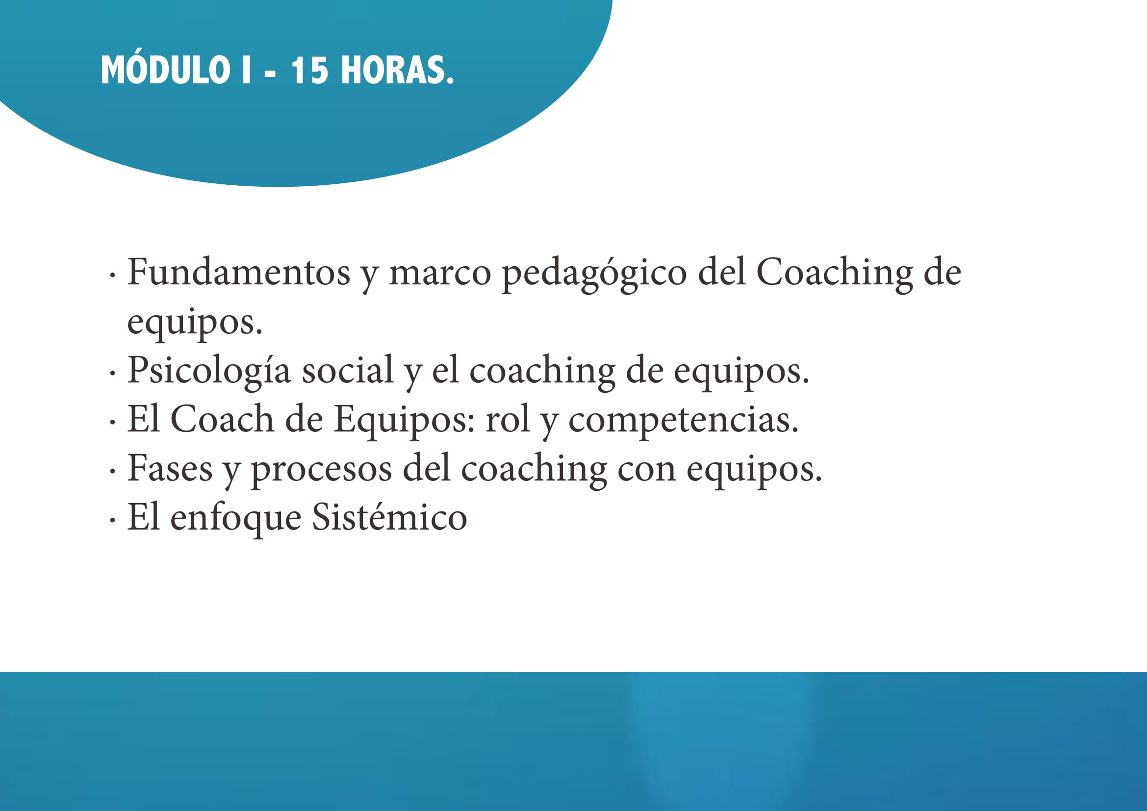 Experto Coaching de Equipos 2018 05