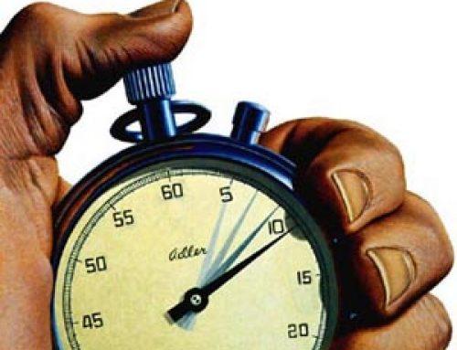 El tiempo que no tenemos